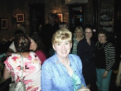 Candice Owley was among the Gemini Girls who celebrated their birthdays with a party at the Studio Lounge, 2246 S. Kinnickinnic Ave. Other honorees included Stephanie Bloomingdale, Julilly Kohler and Nancy Van Meter. Attendees included Rep. Fred Kessler, Robert Kraig and Marina Dimitrijevic. Photo by Michael Horne.