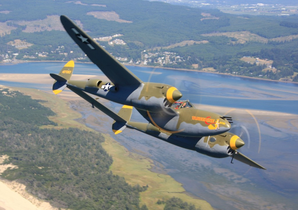 "The collection includes a P-38 Lightning, also known as ""The Forked-Tail Devil"", one of the few left in the world still capable of flight."