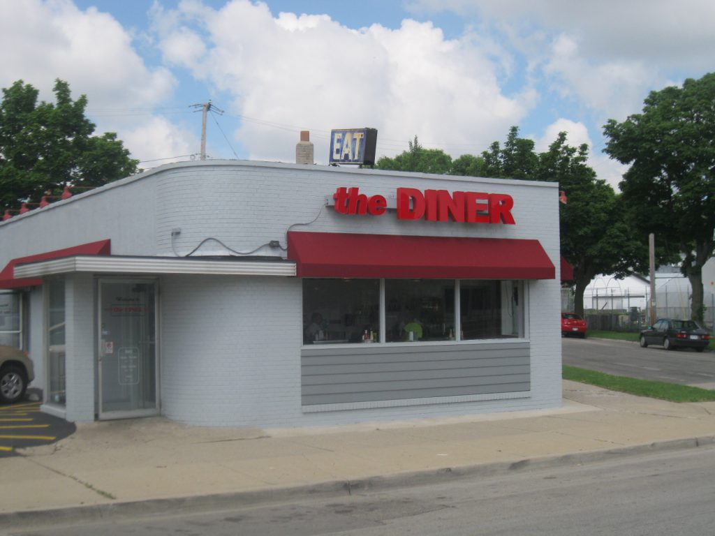 The Diner. Photo taken June 27th, 2013 by Rose Balistrieri.