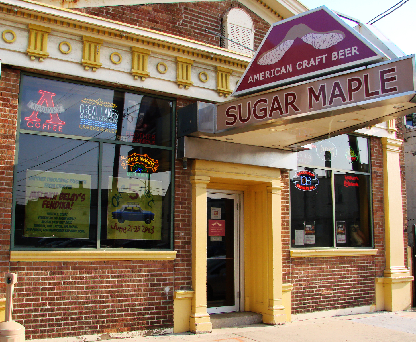 Sugar Maple. Photo taken May 29th, 2013 by Nastassia Putz.