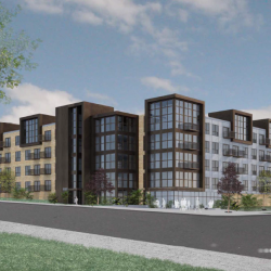 North Avenue Complex West of River Gets New Design