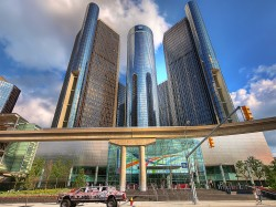 Renaissance Center in Detroit