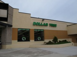 The Dollar Tree store. (Photo by Shakara Robinson)