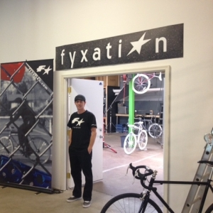 Nick Ginster, co-founder of Fyxation. Photo by Monique Collins.