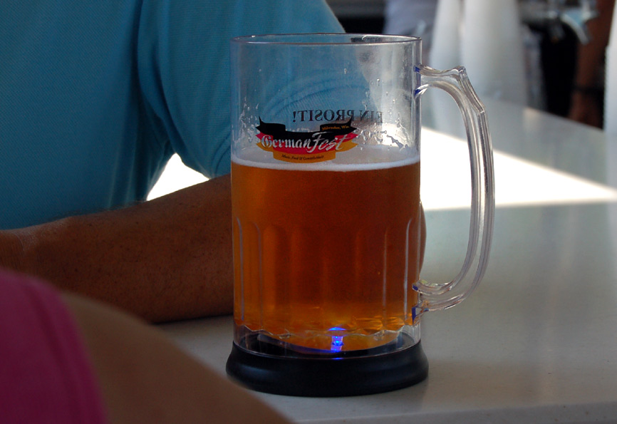 Beer as served at Milwaukee's German Fest. Photos by Brian Jacobson.
