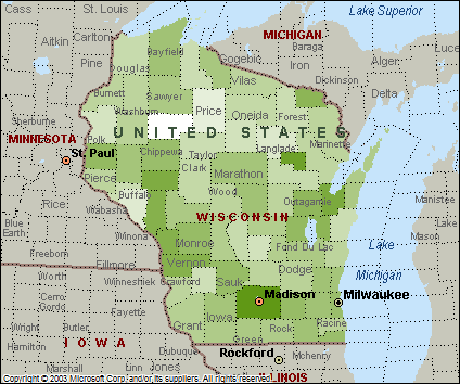 County Population Map