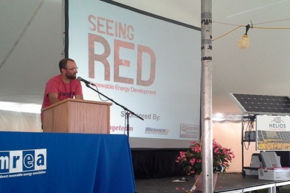 The Seeing RED in Communities Contest held by the Midwest Renewable Energy Association (MREA) focuses on innovative community development projects that promote sustainability. (Photo courtesy MREA)
