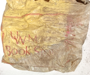 The UWM Bookstore bag. Photo courtesy of the Los Angeles County District Attorney's Office.