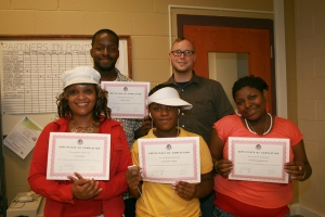My first teaching job with Milwaukee Housing Authority at the Lapham Park facility, 2007.