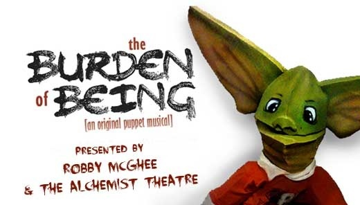"Local actor Robby McGhee makes his writing debut with ""The Burden of Being"""