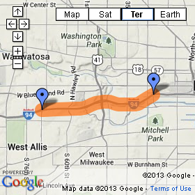 The I-94 East-West Project as presented by WisDOT.