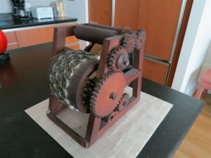 The machine that made oyster (soda) crackers.