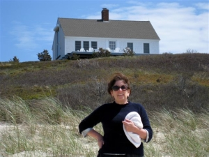 Laura and painter Edward Hopper's house on Cape Cod.