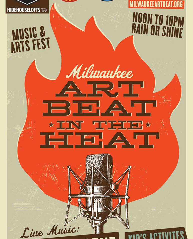 The 4th annual Art Beat in the Heat takes place this Saturday at the Hide House in Bay View.