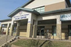 The COA Goldin Center, W. Burleigh St. (Photo by Edgar Mendez)