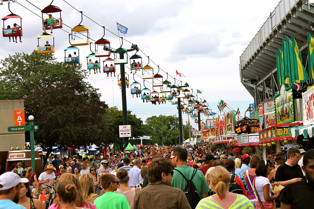 Governor Walker Kicks Off 165th Wisconsin State Fair