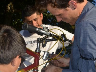 The Traveling Bicycle Repair Man