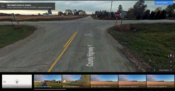 This Google Maps Streetview image shows the closest intersection to the crash.