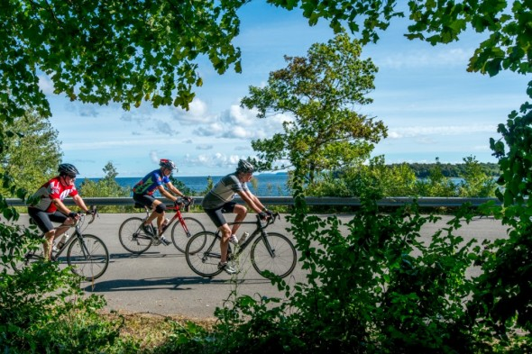 """Scenic low traffic """"Third Coast"""" roads are the bread and butter that keep people coming back to the Door County Century year after year."""