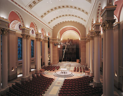 Site of Chamber Series 1, St. John's Cathedral in Cathedral Square