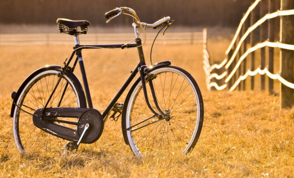 Another horse in the stable: my 1936 Raleigh in the original condition when I bought it.