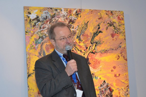 Leo Ries, Executive Director of LISC (Photo by Sue Vliet)