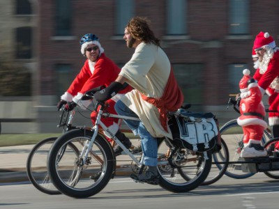Bike Czar: Santa Cycle Rampage Rocks Out