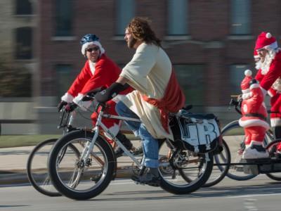 Bike Czar: Santa Cycle Rampage Rocks Out