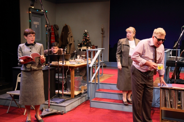 """It's A Wonderful Life"" As A Radio Play — But Onstage"