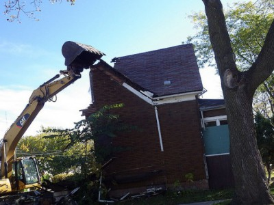 City Goes Into Demolition Business