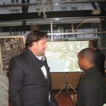 Rick Barrett at the public meeting.