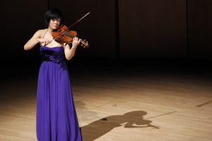 Jennifer Koh will join the MSO to perform Alban Berg's Violin Concerto. Photo courtesy of Pick-Staiger Concert Hall. Photo by Christina Walker.