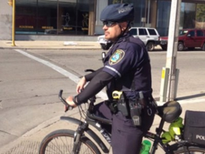 Life of a Bicycle Cop