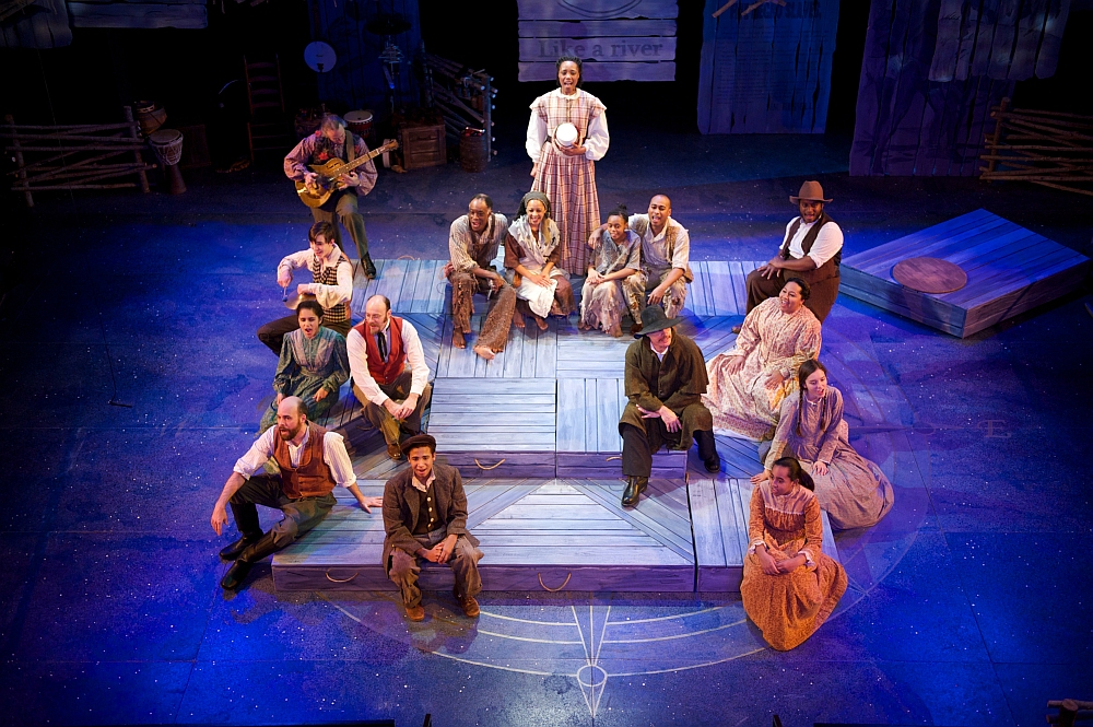 Cast of First Stage's production of A MIDNIGHT CRY. Photo by Paul Ruffolo.