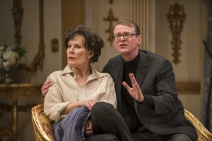 Hollis Resnik and Thomas J. Cox in Milwaukee Repertory Theater's 2013/14 Quadracci Powerhouse production of End of the Rainbow. Photo by Michael Brosilow.