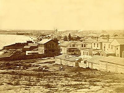 Yesterday's Milwaukee: Mason Street at Lakefront, 1868