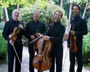 The Fine Arts Quartet. Photo by Robert Devers.