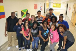 Students at Alexander Hamilton High School are among those participating in College Possible. (Photo courtesy of College Possible)