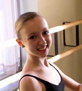 Alaina Andersen. Photo courtesy of the Milwaukee Ballet.
