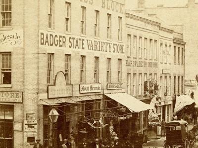 Yesterday's Milwaukee: Prentiss Block, Late 1860s
