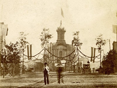 Yesterday's Milwaukee: Saengerfest and City Hall, 1868