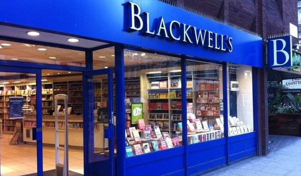 Blackwell's. Photo from Blackwell's website.