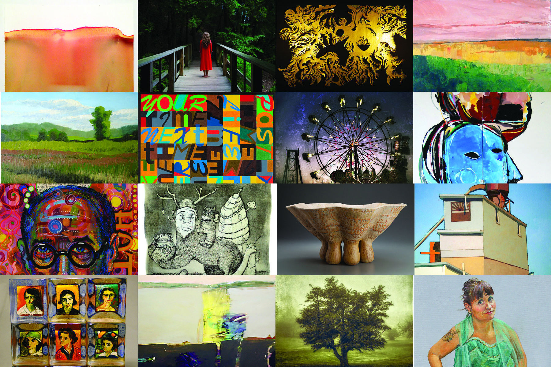 FORWARD 2014: A Survey of Wisconsin Art Now Returns to the Charles Allis Art Museum