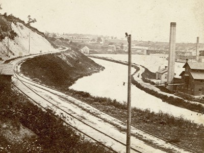 Yesterday's Milwaukee: Rock River Canal, 1860s