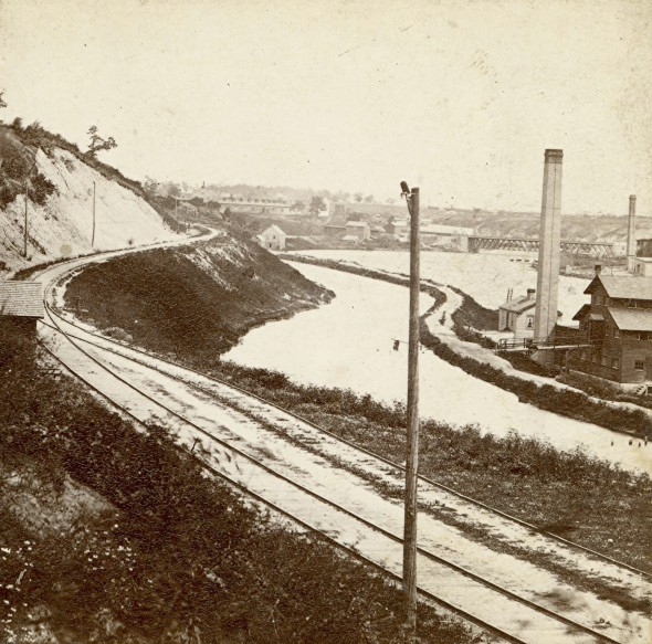 Rock River Canal, 1860s. Photo courtesy of Jeff Beutner.
