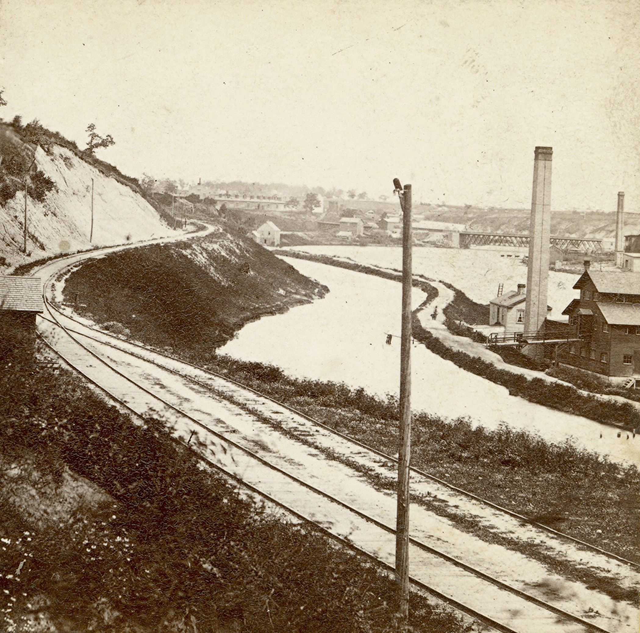 Rock River Canal, 1860s