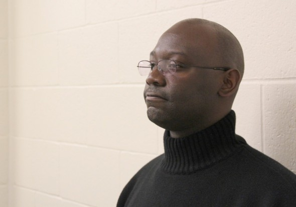 "Gilbert, 39, has been in Sand Ridge Secure Treatment Center since 2004. He was convicted as a sex offender in 1994. He is in the last of three phases of treatment in the facility and hopes to transition soon to supervised release. A new law will direct more patients to supervised release, a program that provides ongoing monitoring and treatment for sex offenders in the community. Gilbert says he agrees with that new provision: ""I'll need that help with the transition."" Nora G. Hertel/Wisconsin Center for Investigative Journalism"
