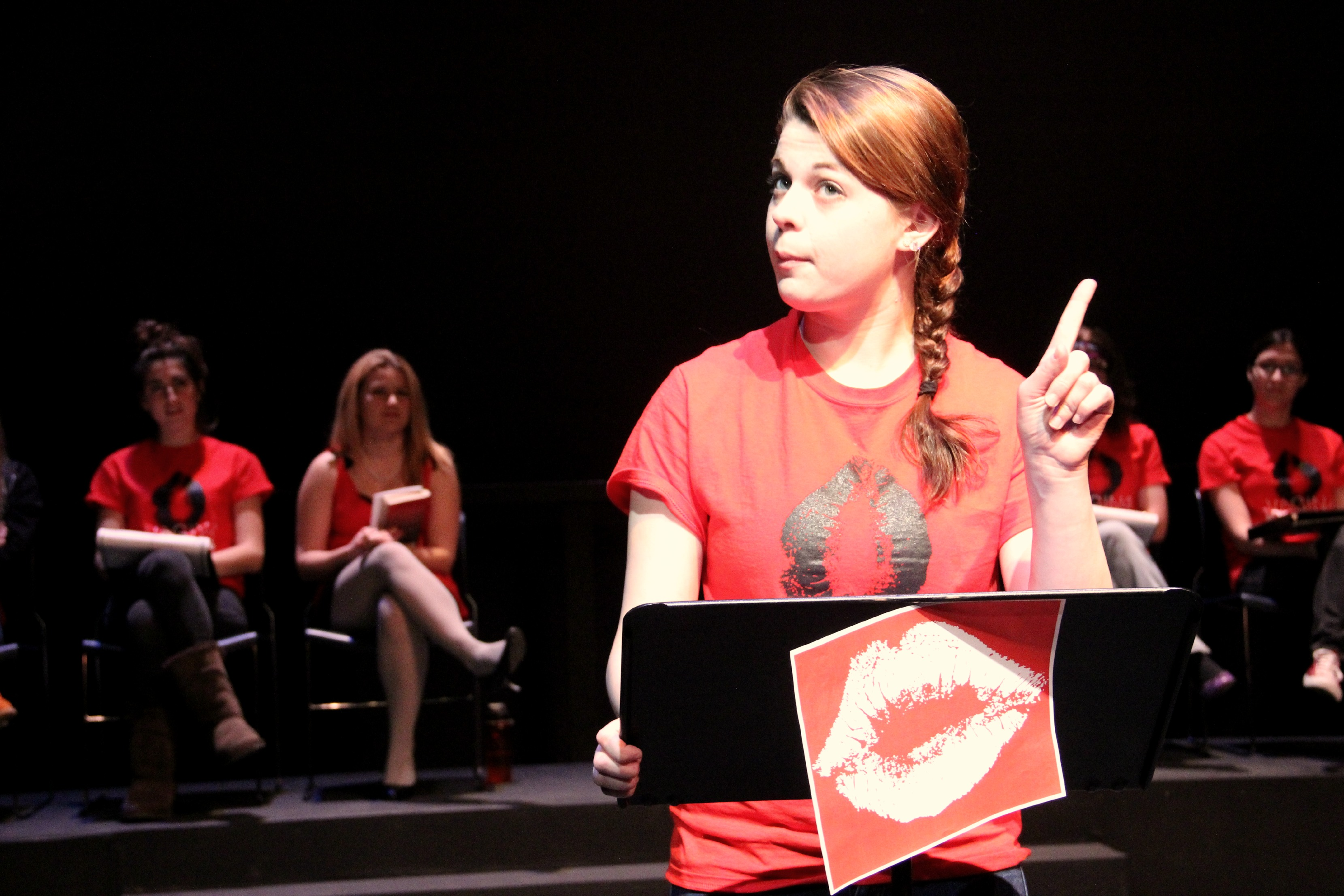 "Carroll Players present ""The Vagina Monologues"" on V-Day"