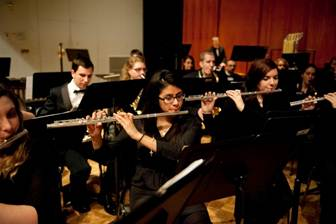 Italian maestro directs Carroll University ensembles