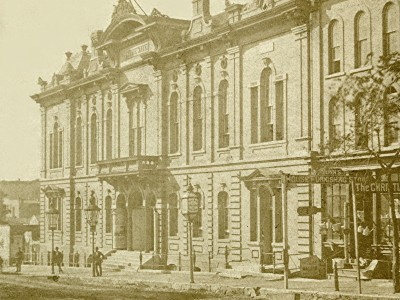 Yesterday's Milwaukee: Academy of Music, 1860s